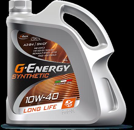 G-Energy Synthetic Long Life 10W-40 SN/CF