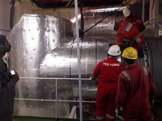 Install SOX system on board VLCC Front Discovery