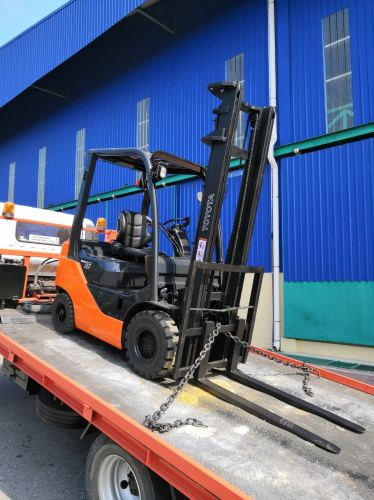 Forklift Rental at Malaysia