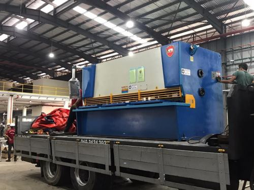 Delivery of New Shearing Machine to Klang, Selangor
