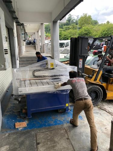 Used APM CNC Router was delivered