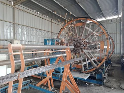 SCON Wire Caging Machine Process