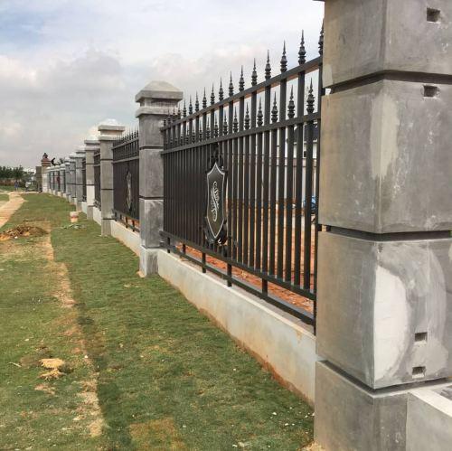 MS Wrought Iron Folding Main Gate- ECO Spring Development