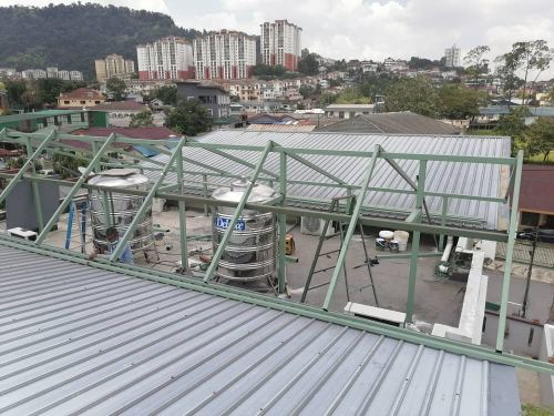 Metal Roofing Cover Rooftop