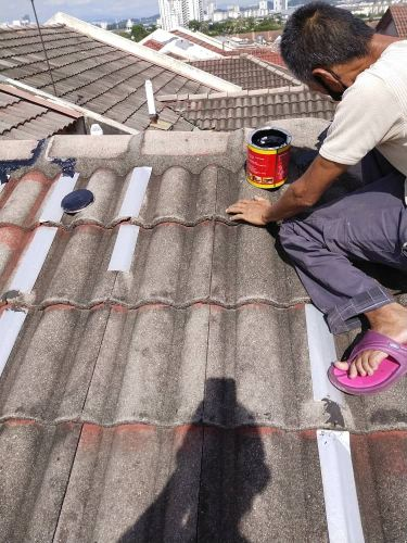 Roof Repairing service due to roof leaking