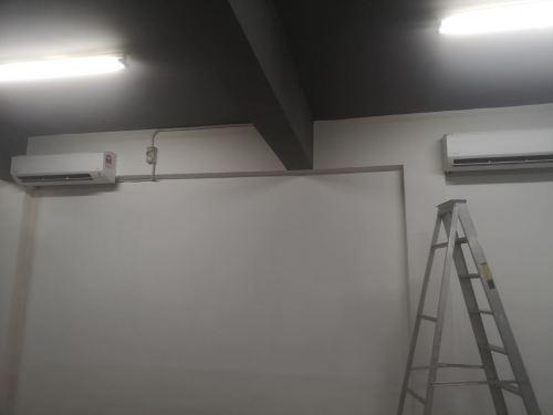 INSTALL AIRCOND Klang 2.5HP DAIKAN wall mounted
