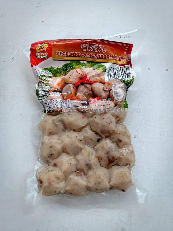 VEGETALK FOOD SUPPLIES PTE LTD:Vegetarian Mushroom Balls