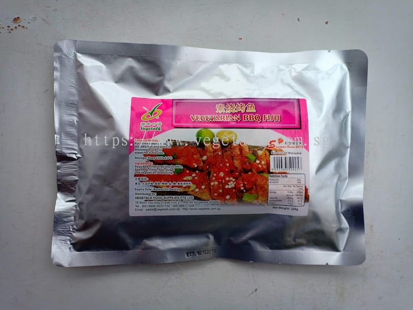 VEGETALK FOOD SUPPLIES PTE LTD:Vegetarian BBQ Fish