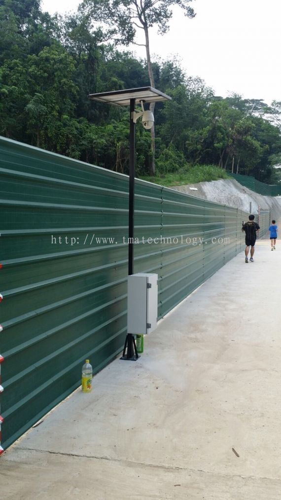 TMA Technology System Pte Ltd:Solar CCTV Monitoring System