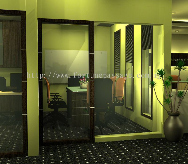 Johor commemcial and office from fortune passage design for Office design johor