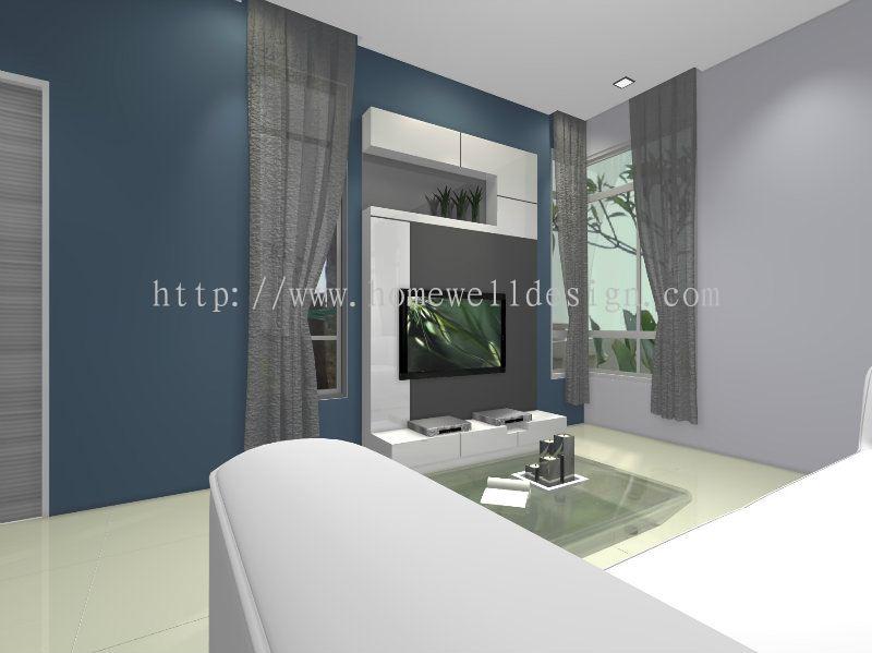 Johor living room daripada homewell design renovation works for Living room design johor bahru