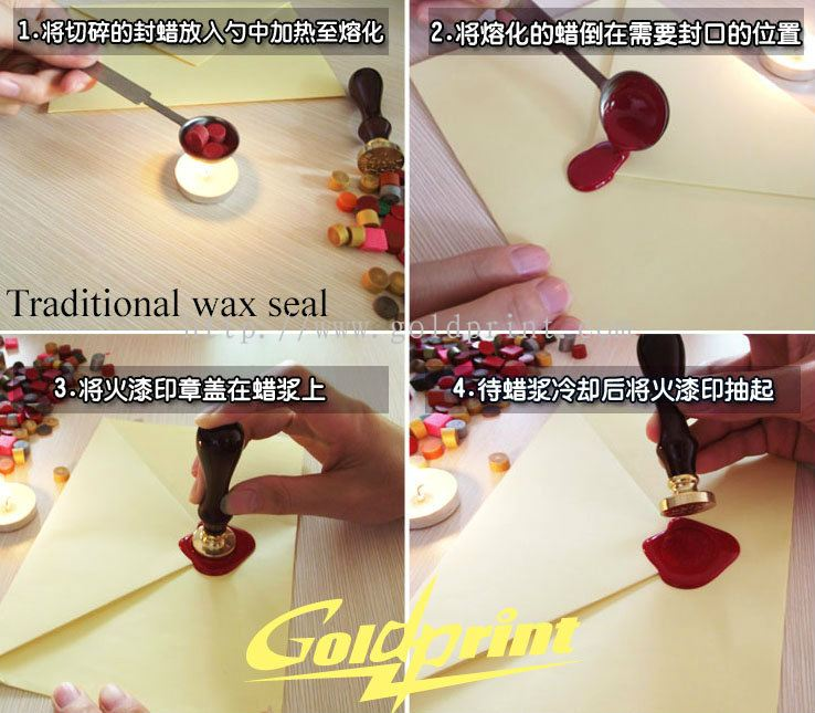 Goldprint Enterprise Pte Ltd:Traditional Wax seal manufacting