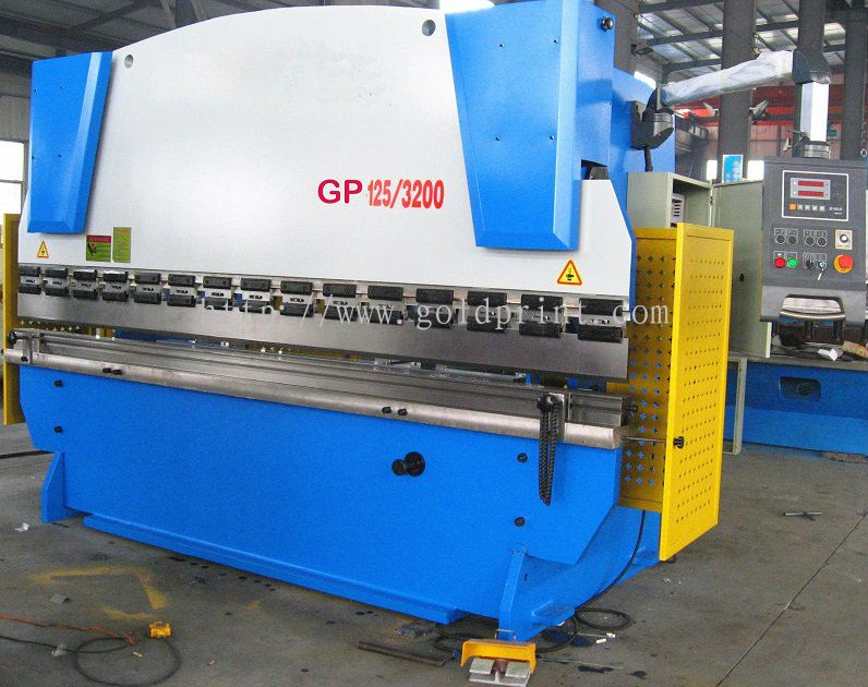 Goldprint Enterprise Pte Ltd:Metal sheets Shearing and Bending machine
