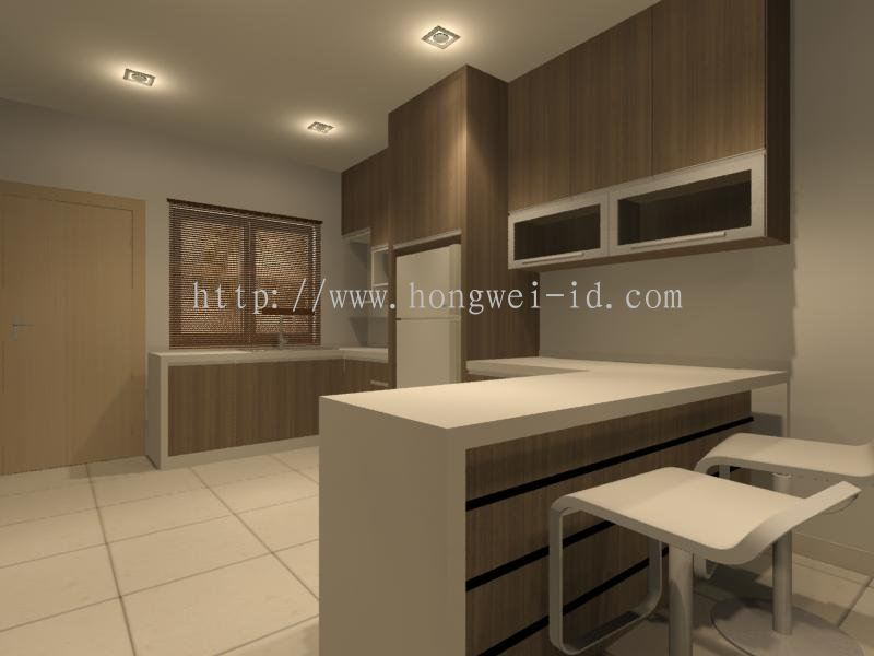 Johor DRY KITCHEN AND BAR COUNTER Kitchen Cabinet