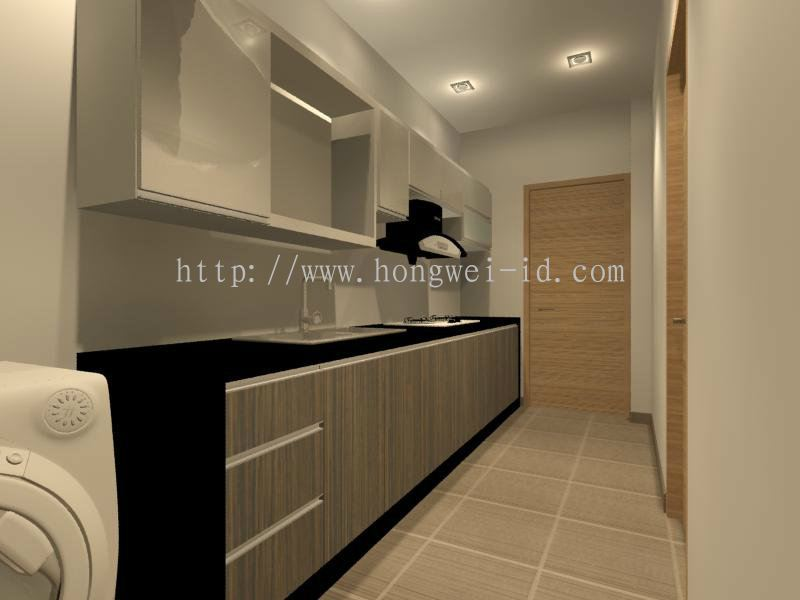 Johor Kitchen Cabinet Interior Design Residential From Hong Wei Construction Renovation