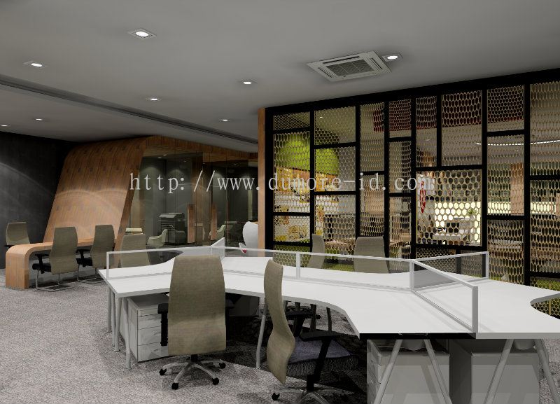 Johor 3d office from dumore design sdn bhd for Office design johor