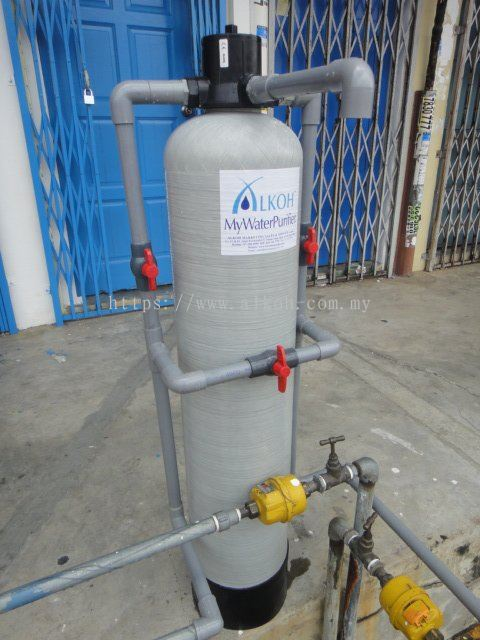 Johor out door filtration system point of entry water for Garden water filter system