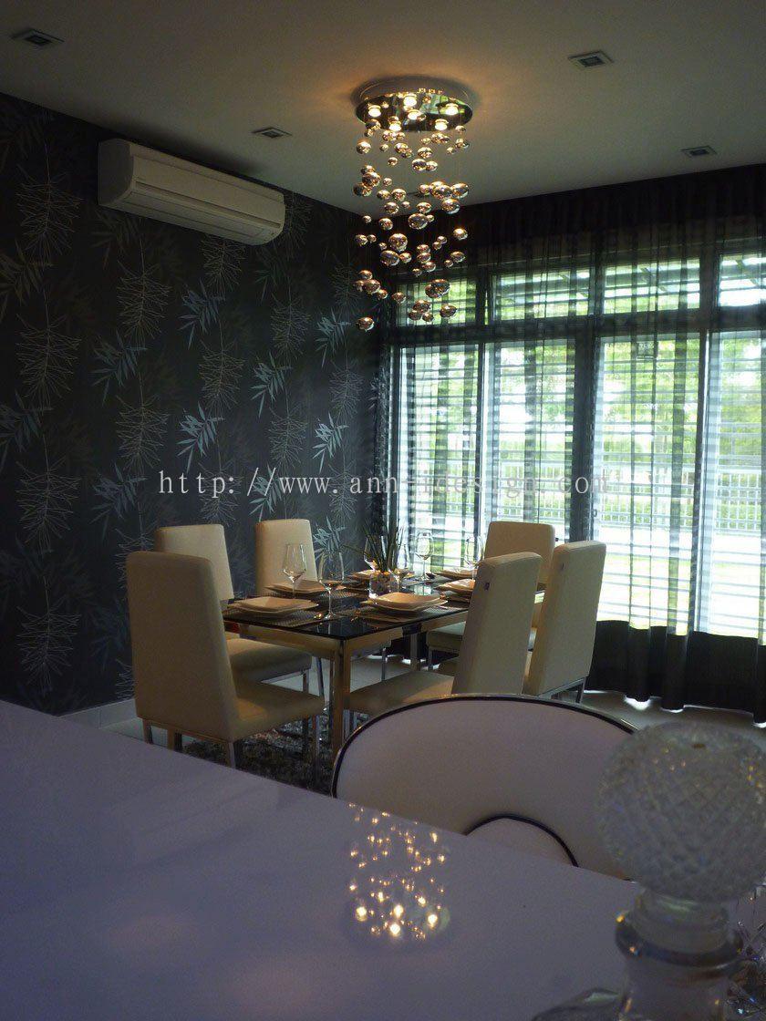 Johor dining hall horizon hills from ann interior design for Dining hall interior design