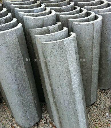Half Round Drainage Pipe Acpfoto