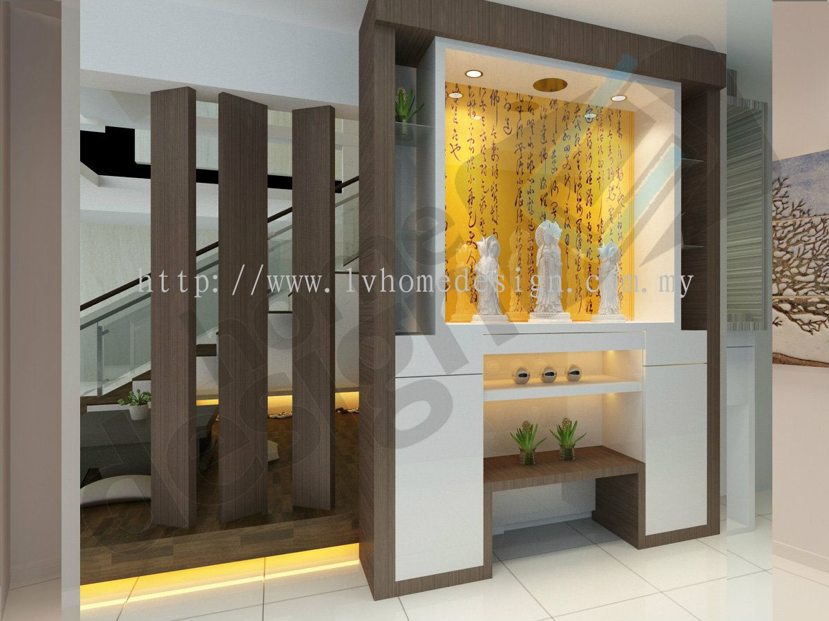 Skudai Altar D Design From Cai Yi Construction M Sdn Bhd - Home altar designs