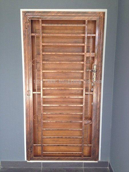 Johor bahru jb safety door sliding door door from for Door design johor bahru