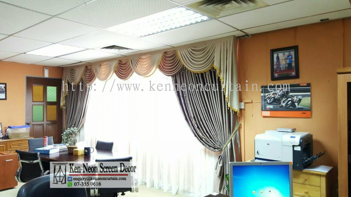 Johor day and night curtains from ken neon screen decor for Home decor johor bahru