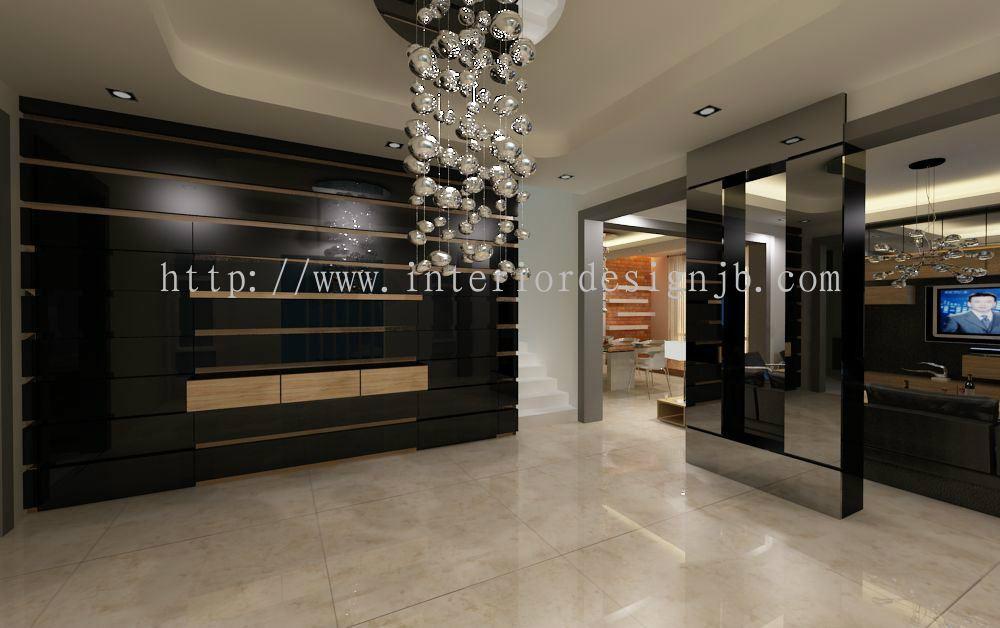 Foyer Area News : Johor bahru jb foyer area residential from samm design