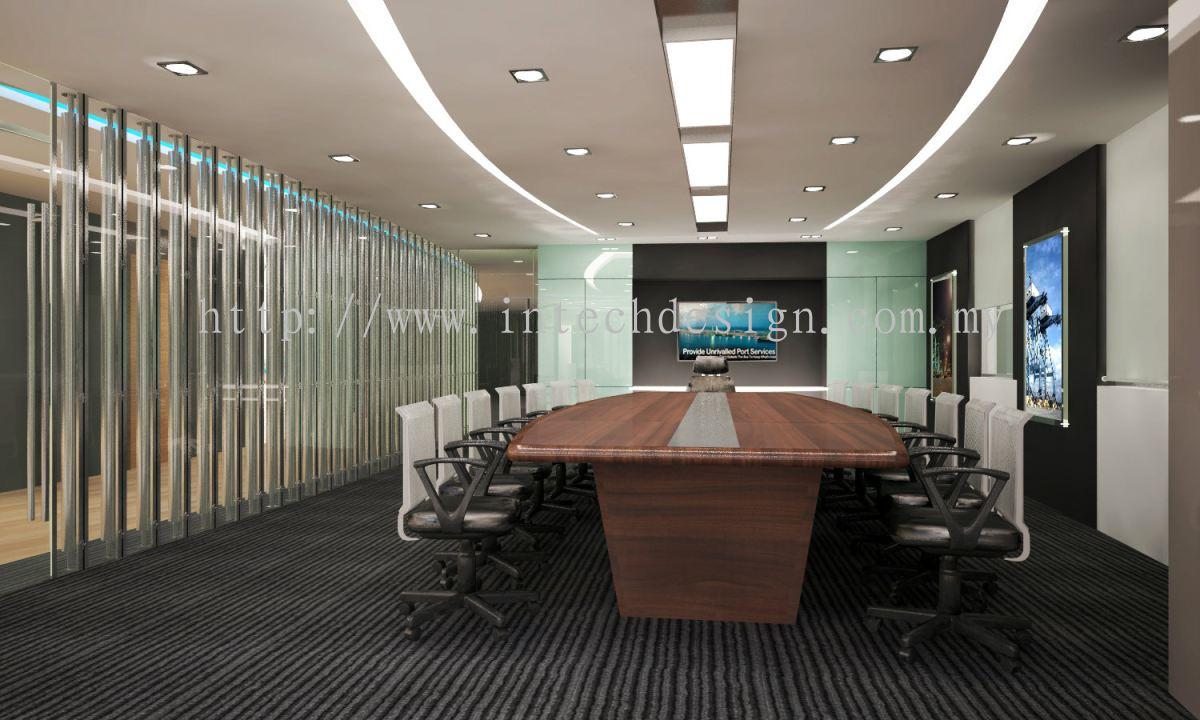 Johor conference and meeting daripada intech design for Office design johor