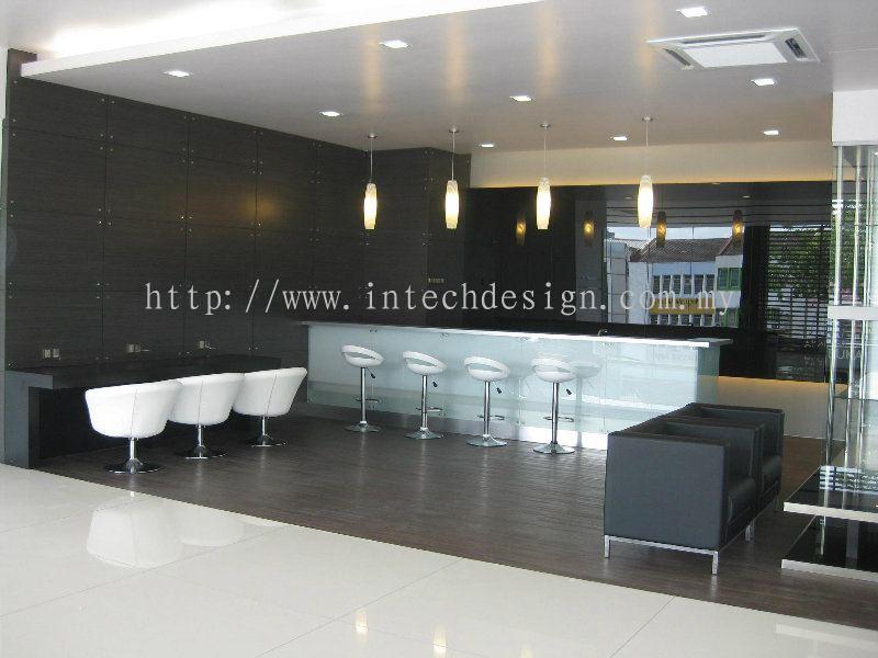 Johor lexus showroom projects daripada intech design for Office design johor