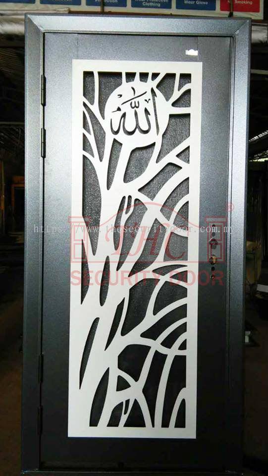 Shah Alam new edge security door from THC Metal Engineering