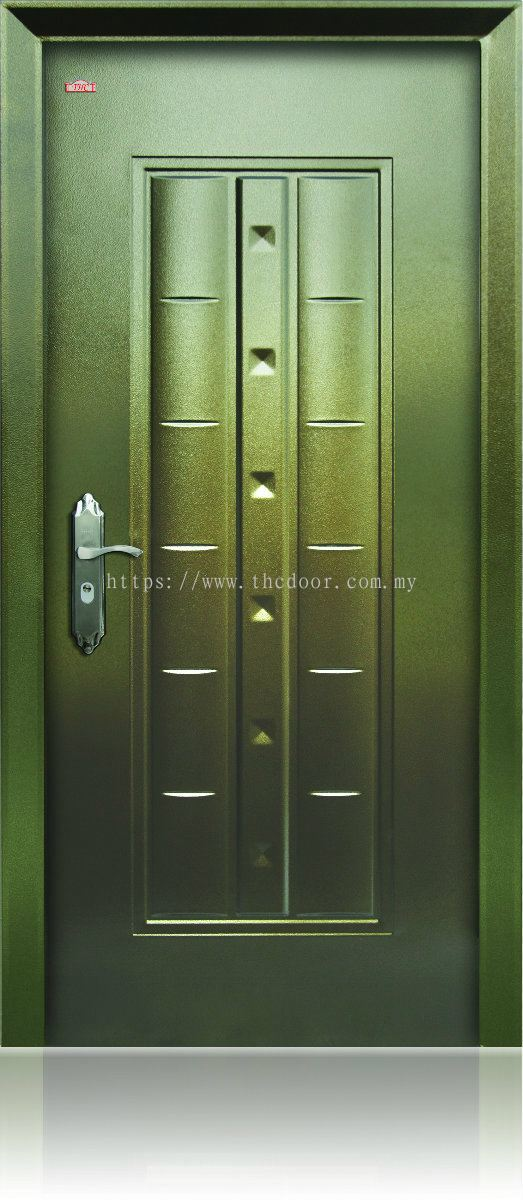 Stainless Steel Hollow Grille Security Door S Edition
