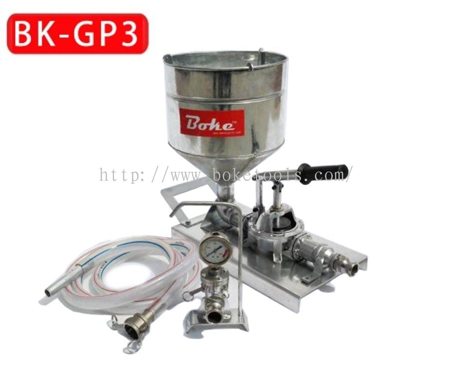 Boke Tools Machinery Pte Ltd:HAND INJECTION GROUT PUMP BK-GP3