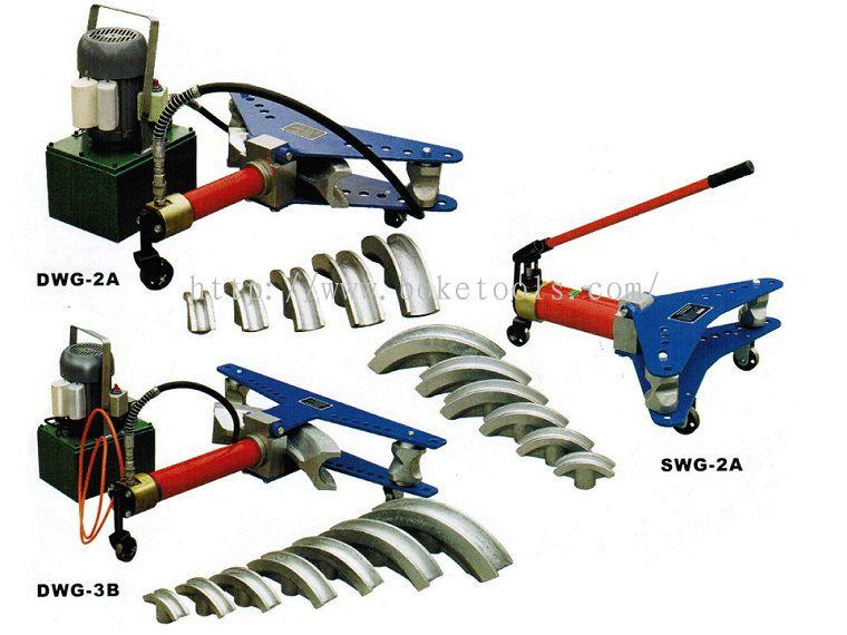 Boke Tools Machinery Pte Ltd:HYDRAULIC PIPE BENDERS MACHINE SWG-2A DWG-2A,3B