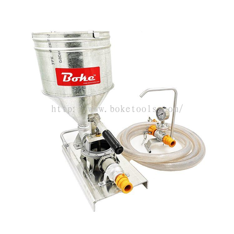 Boke Tools Machinery Pte Ltd:HAND INJECTION GROUT PUMP BK-GP2