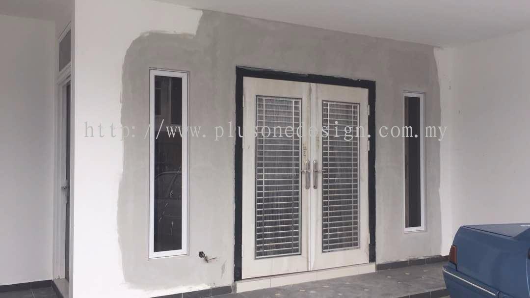 Johor security door door window from plus one design for Door design johor