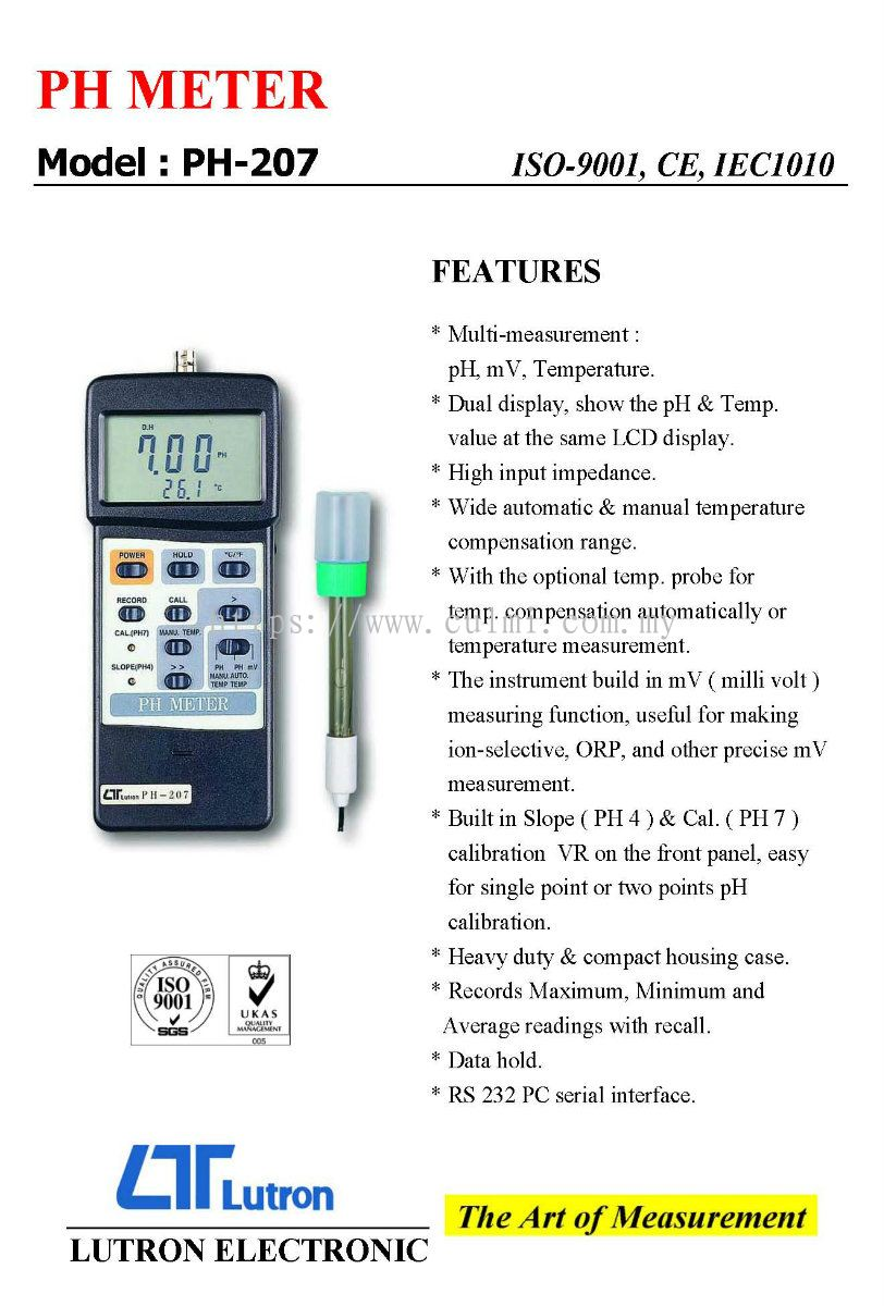 how to make a ph meter