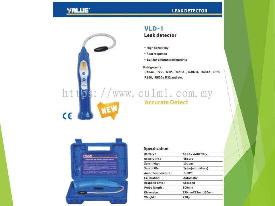 Selangor VALUE VLD-1 (R32) Refrigerant Leak Detector Value