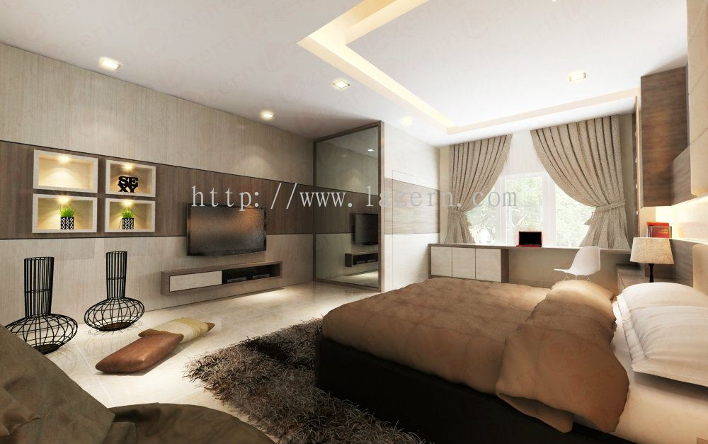 Selangor Master Bedroom Modern Contemporary Interior Design For Ms May 39 S Semi D House In