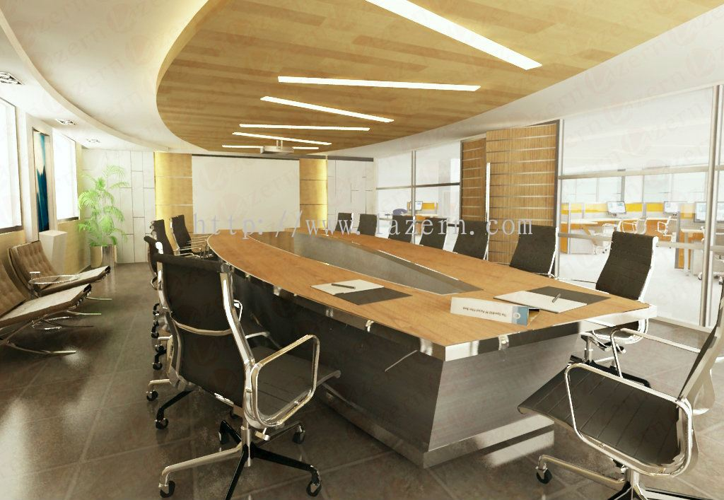 Lazern sdn bhd conference room modern interior for Modern engineering office design