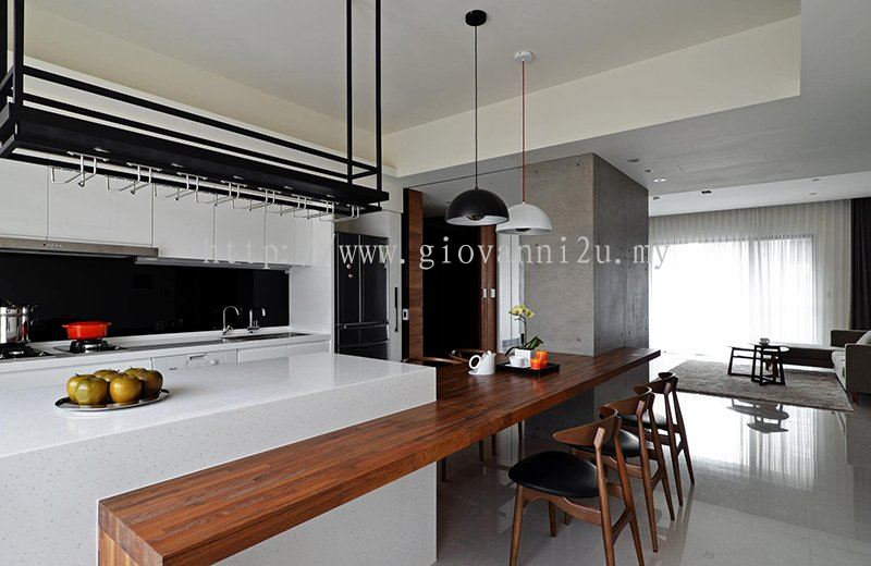 Penang Dry Kitchen Design Kitchen Design From Giovanni Kitchen Wardrobe