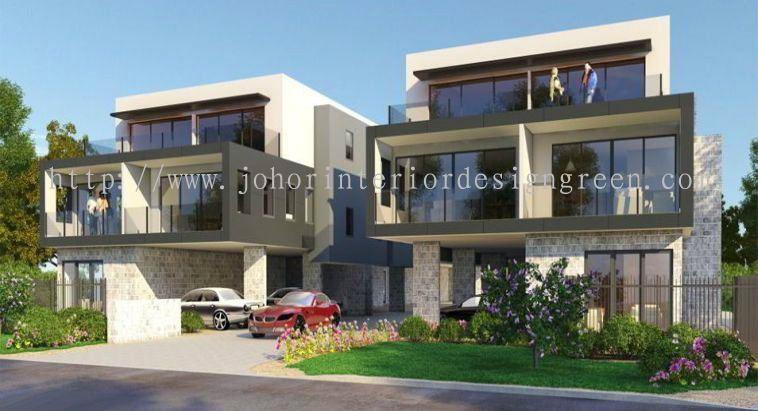 Johor residential from green home interior design for House interior design johor