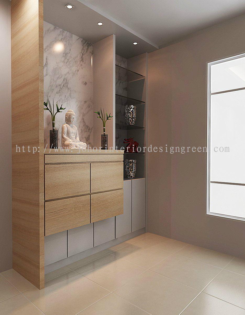 Johor Altar Cabinet Design From Green Home Interior Design