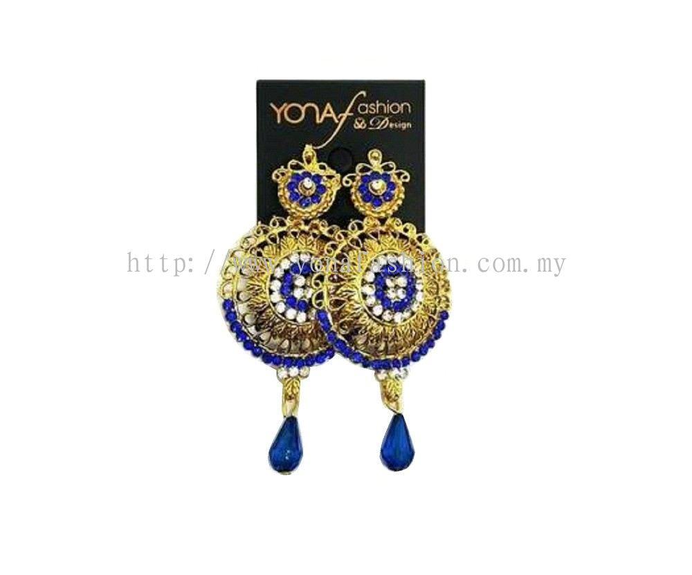 Selangor Yona Fashion Traditional Stud Earring Earrings Jewellery From Yona Fashion Design Sdn Bhd
