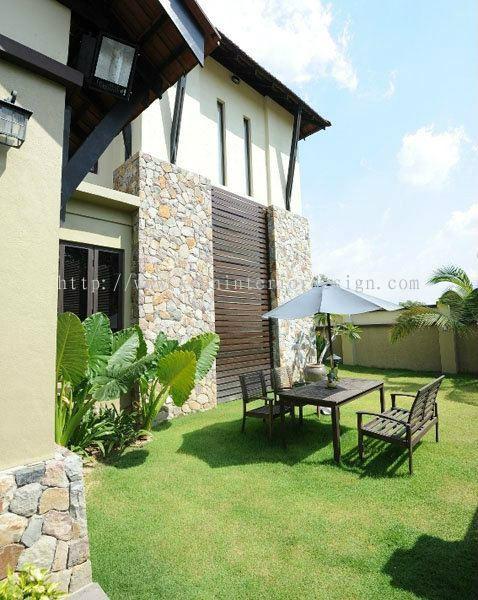 Selangor bungalow landscape design landscape design for Interior design di bungalow artigiano