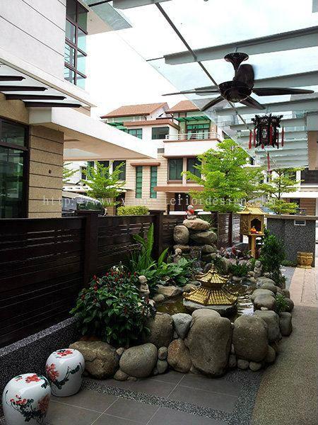 Kajang landscape design from xenn interior design - Hello this is my new picture garden interior ...