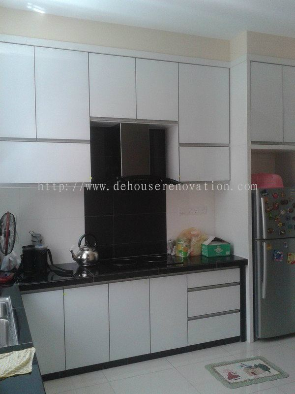 Penang Kitchen Cabinet Furniture Daripada De House Design Furnishing