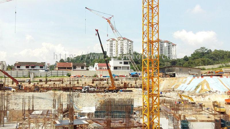 Rough Terrain Crane Malaysia : Johor rough terrain crane daripada kran world sdn bhd