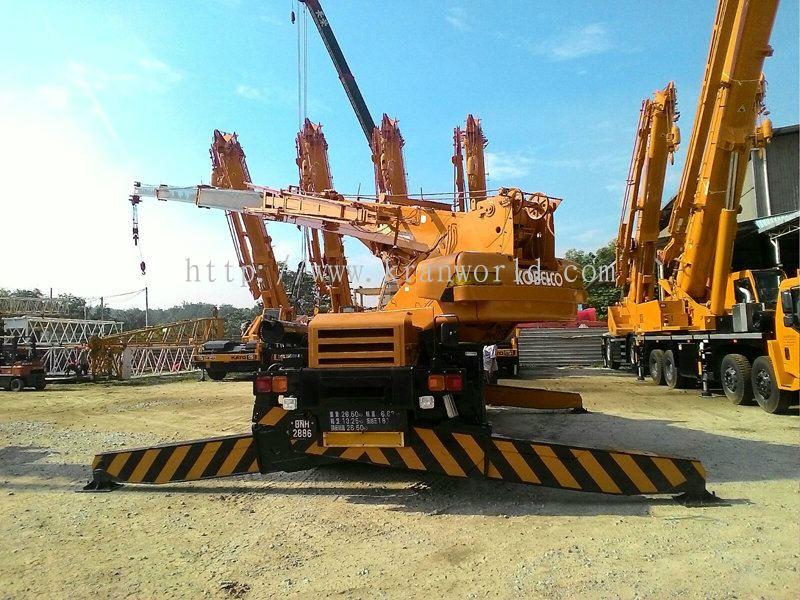 Rough Terrain Crane Malaysia : Johor rough terrain crane from kran world sdn bhd