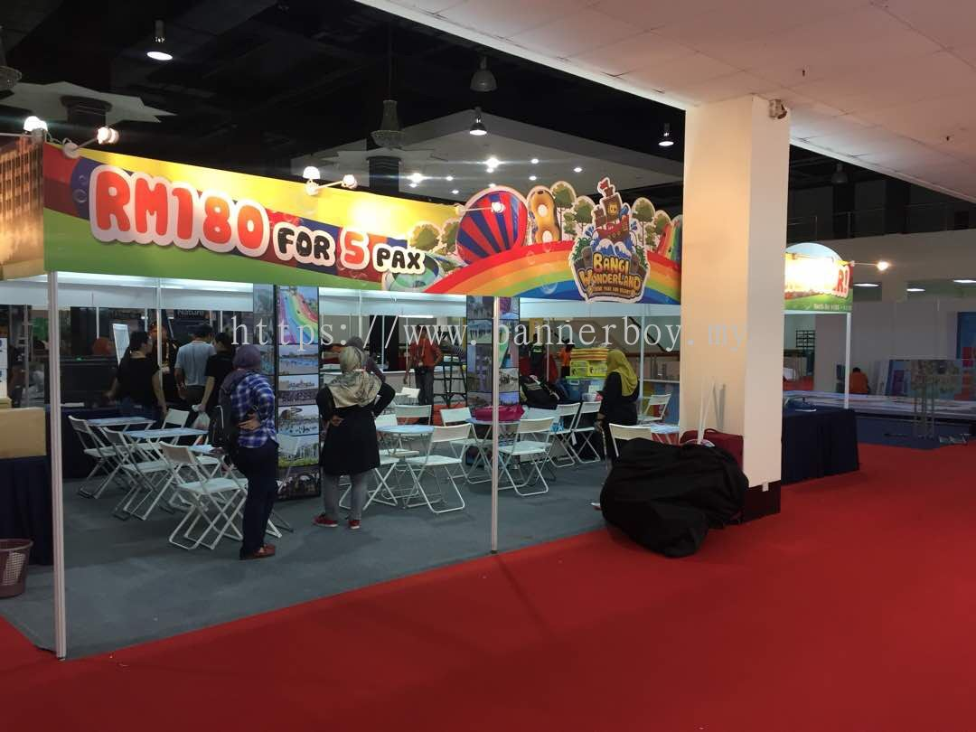 Exhibition Booth Backdrop : Selangor exhibition booth backdrop 展台背景 from ted print sdn bhd