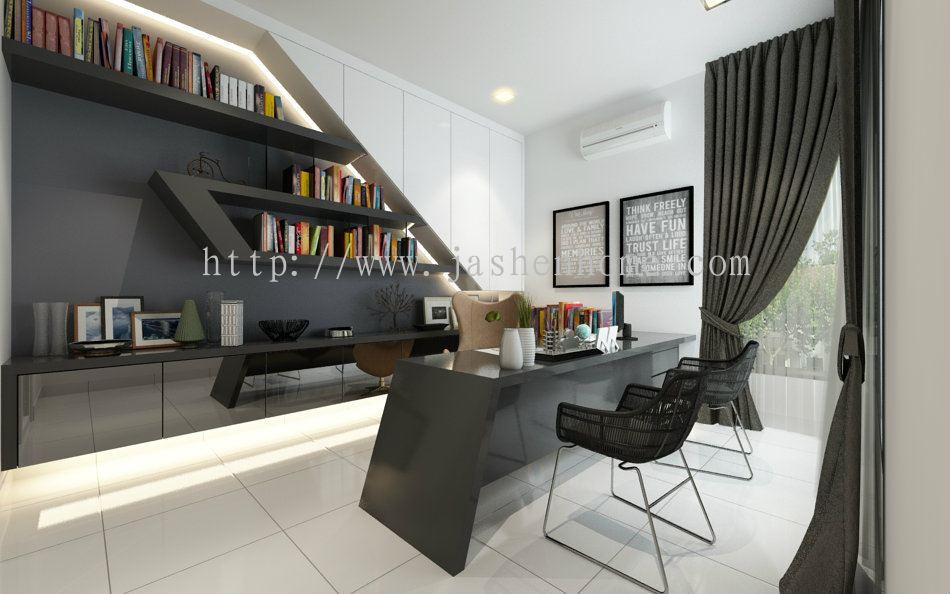 Selangor study room design from jashen interior design sdn bhd for Room interior design sdn bhd